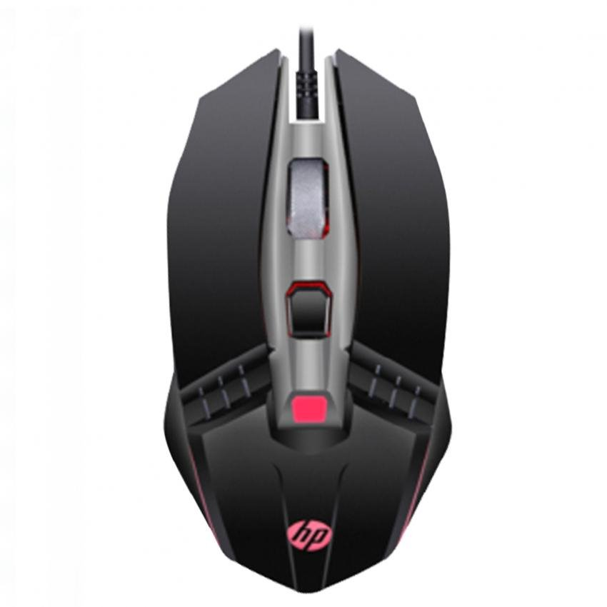 Mouse Gaming Hp m270 6 Botones hasta 2400 Dpi Ajusta 4 LED