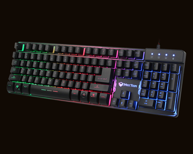 Teclado Gaming con cable retroiluminado Meetion K9300