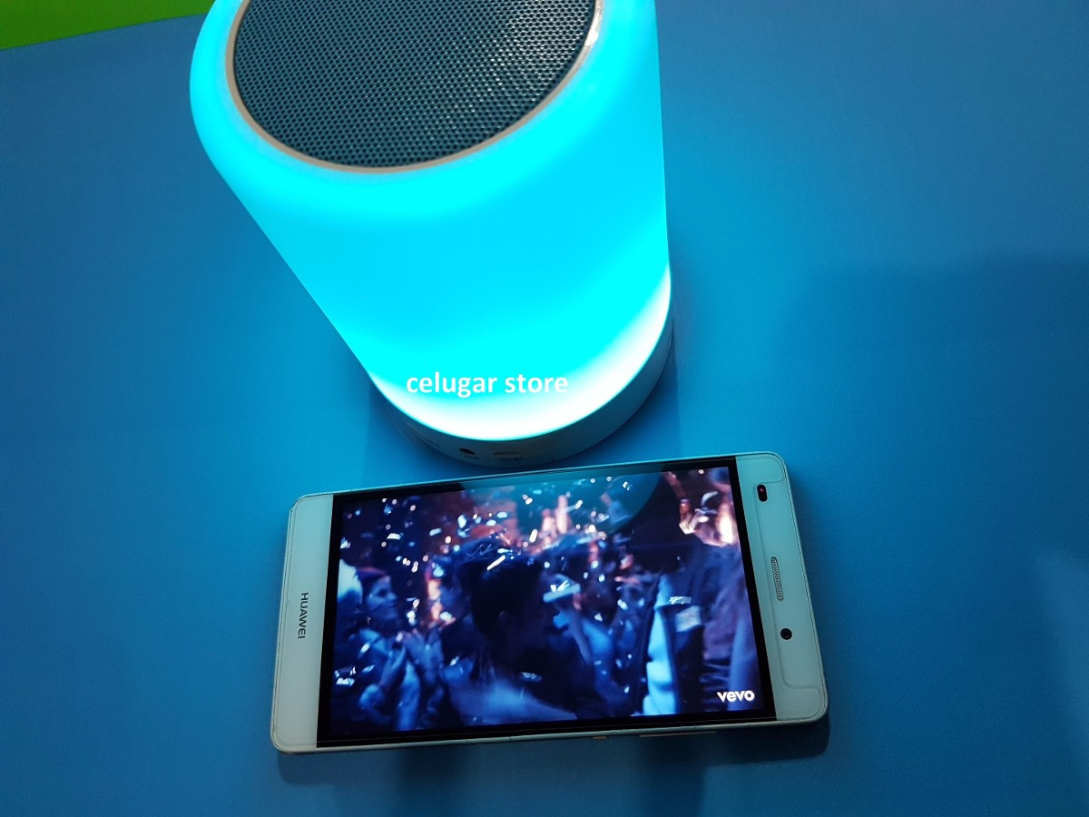 Parlante Bluetooth con Lampara Táctil Con Luz Led Touch