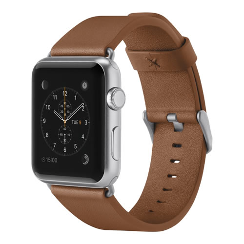 CORREA APPLE WATCH 1, 2, 3, 4 CUERO CLÁSICO BELKIN 38 MM