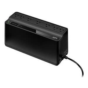 UPS APC BE-600M1 330W 7 Power Outlets 1USB Type-A Port Black