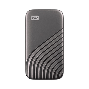 Disco Duro Western Digital SSD My Passport 500GB USB 3.0 Externo Gray