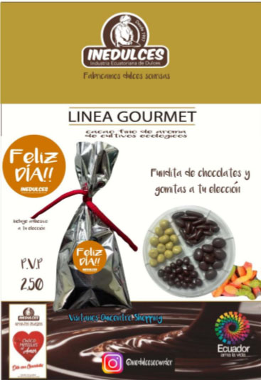 Funditas de chocolate