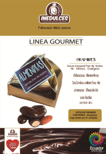 Piramides chocolate